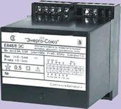 Е 848 ЭС Преобразователь измерительный активной мощности трехфазного тока