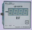 ЦВ 9257 Щитовые цифровые измерительные преобразователи напряжения постоянного тока