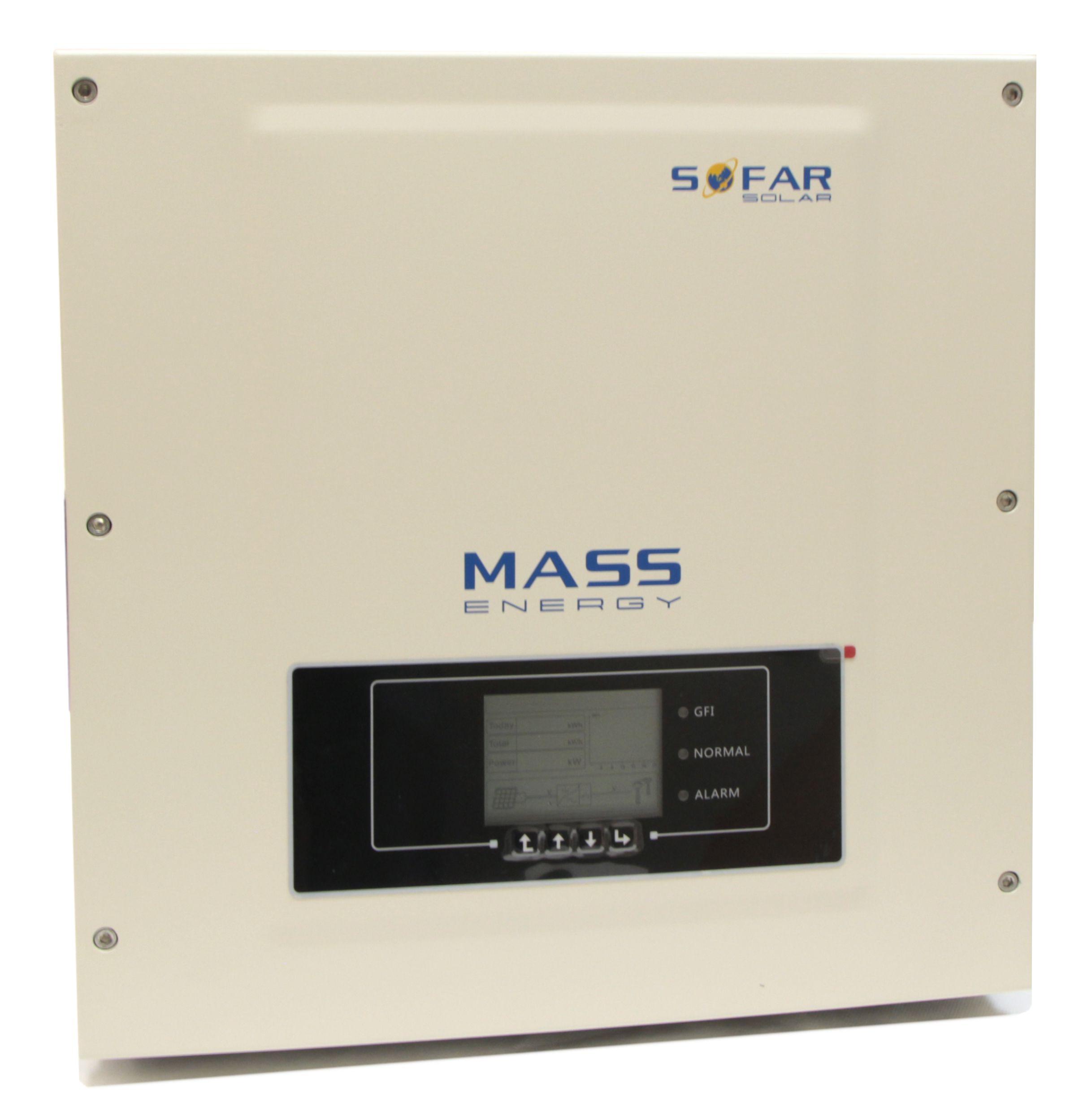 Сетевой трехфазный инвертор Sofar 6.6KTL-X 6000ВА (2 MPPT)