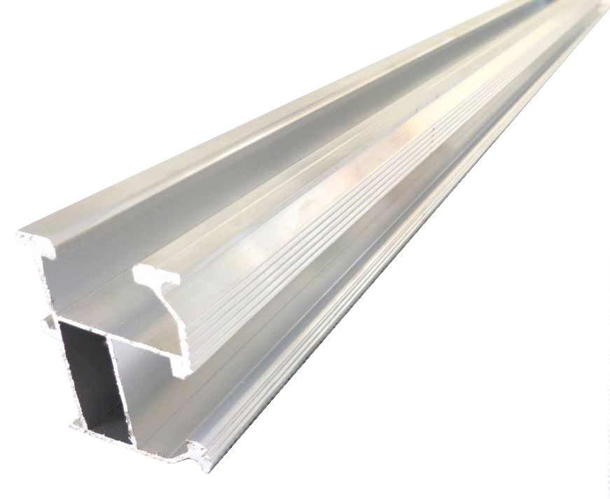 Профиль для крепления солнечных модулей алюминиевый (длина 3,25м)