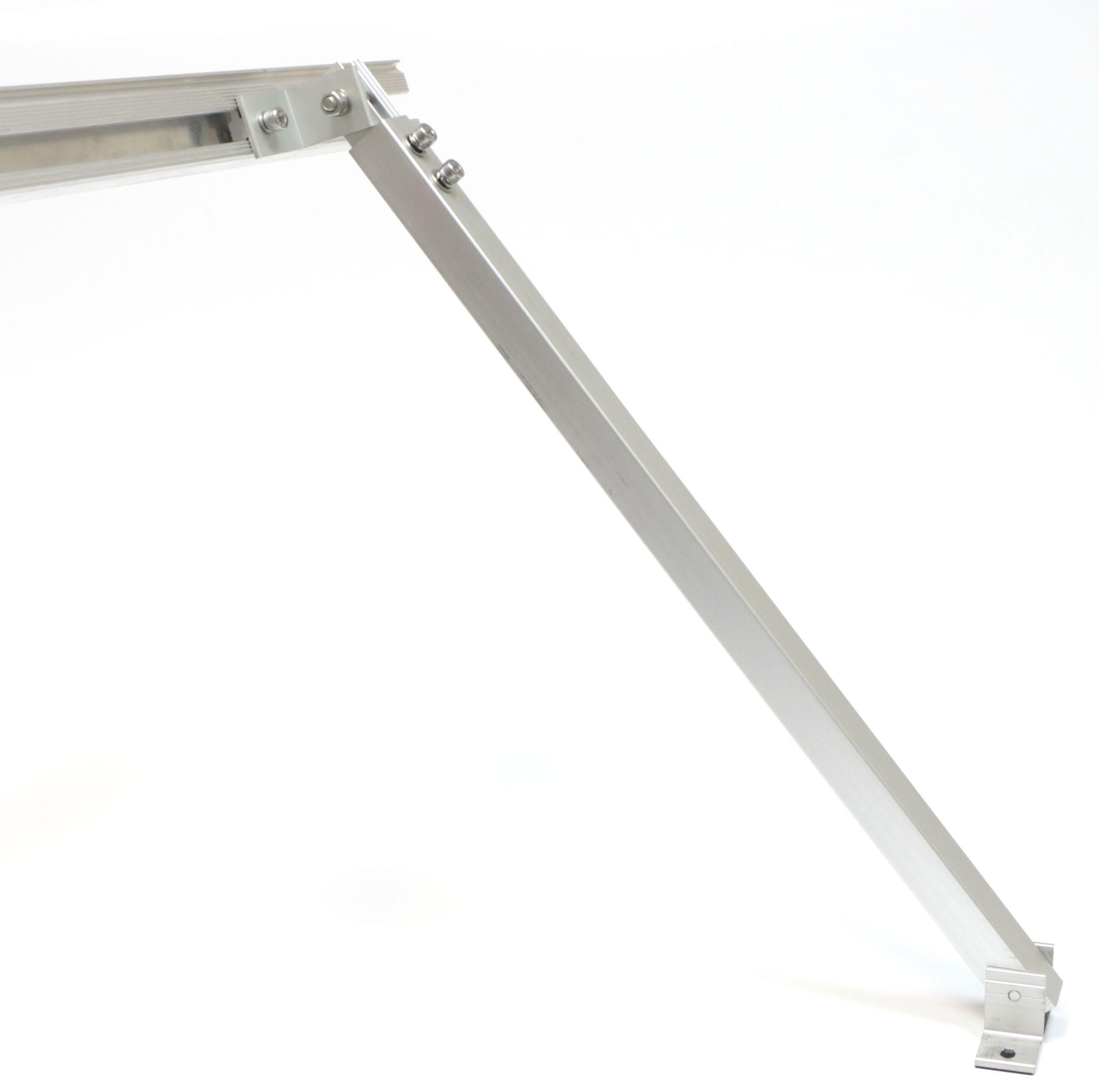 Комплект крепления солнечных батарей с переменным углом наклона 30-60 (передняя и задняя нога)
