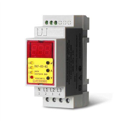 Реле контроля фаз RKF-03-02
