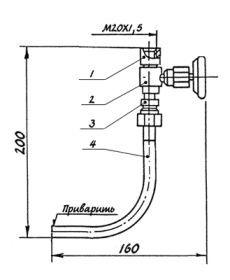 Отборное устройство 16-70-ст20-МУ