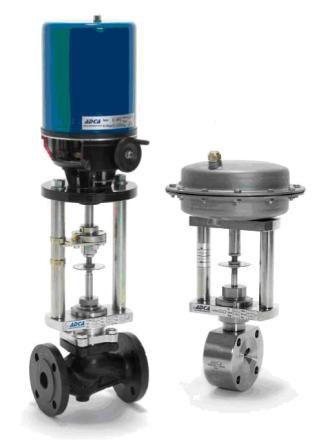 Регулирующие клапаны с электроприводом серии PSL