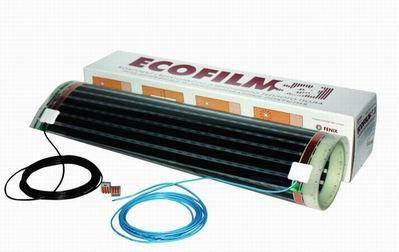 Комплект инфракрасного пленочного теплого пола ECOFILM Set 150-4/300 на 2,4 м2