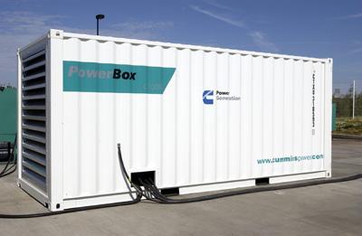Дизельный генератор 560 кВт в шумозащитном всепогодном контейнере
