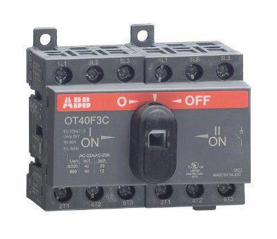 Реверсивный рубильник 1SCA104913R1001 (OT40F3С) до 40 ампер