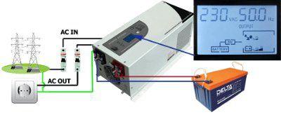 Инвертор зарядное устройство MUST POWER 1012