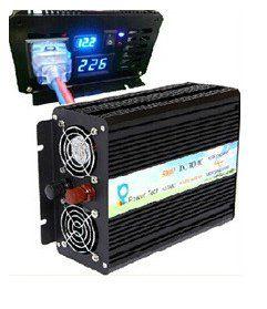Инвертор преобразователь напряжения 500S-LED 12 вольт 500 ватт.