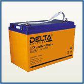 Аккумулятор AGM. Delta DTM 12-100