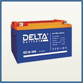 Аккумулятор гелевый. Delta GX 12-100