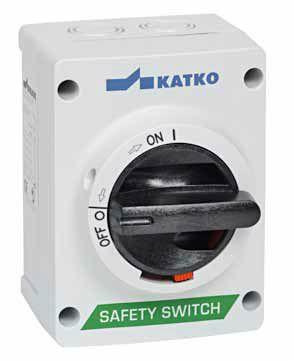 KEM 310U Корпусный выключатель безопасности (корпус поликарбонат U2)