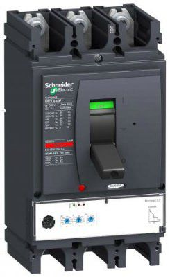 Выключатель автоматический NSX630F MICROLOGIC 2.3 630A 3P3D электронный расцепитель (LV432876)