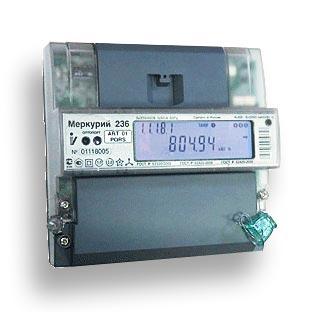 ОРС-серверы электросчетчиков Меркурий-230, Меркурий-233, Меркурий-236, Меркурий 225