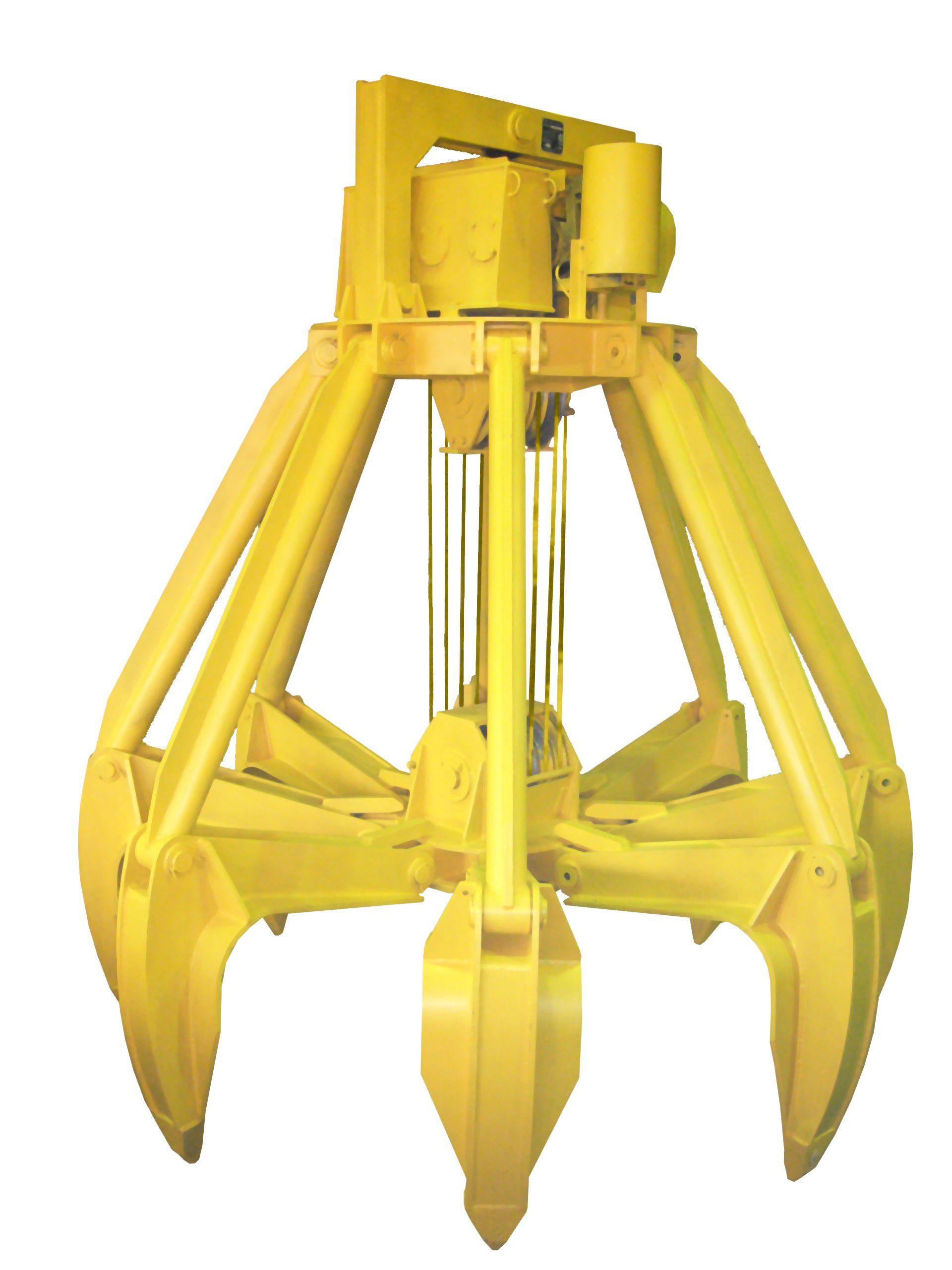 Грейферы моторные для перегрузки металлолома