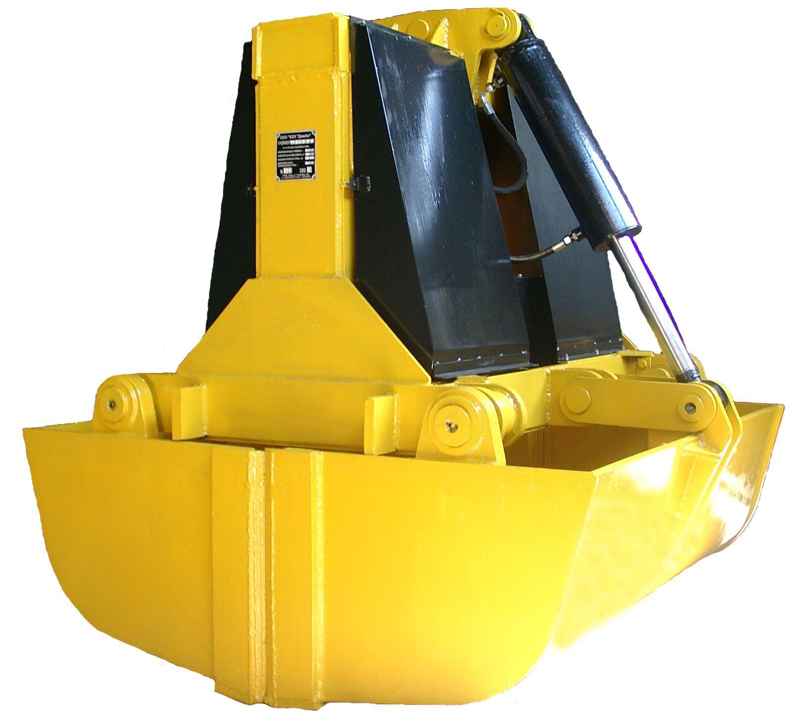 Грейферы гидравлические для перегрузки сыпучих грузов