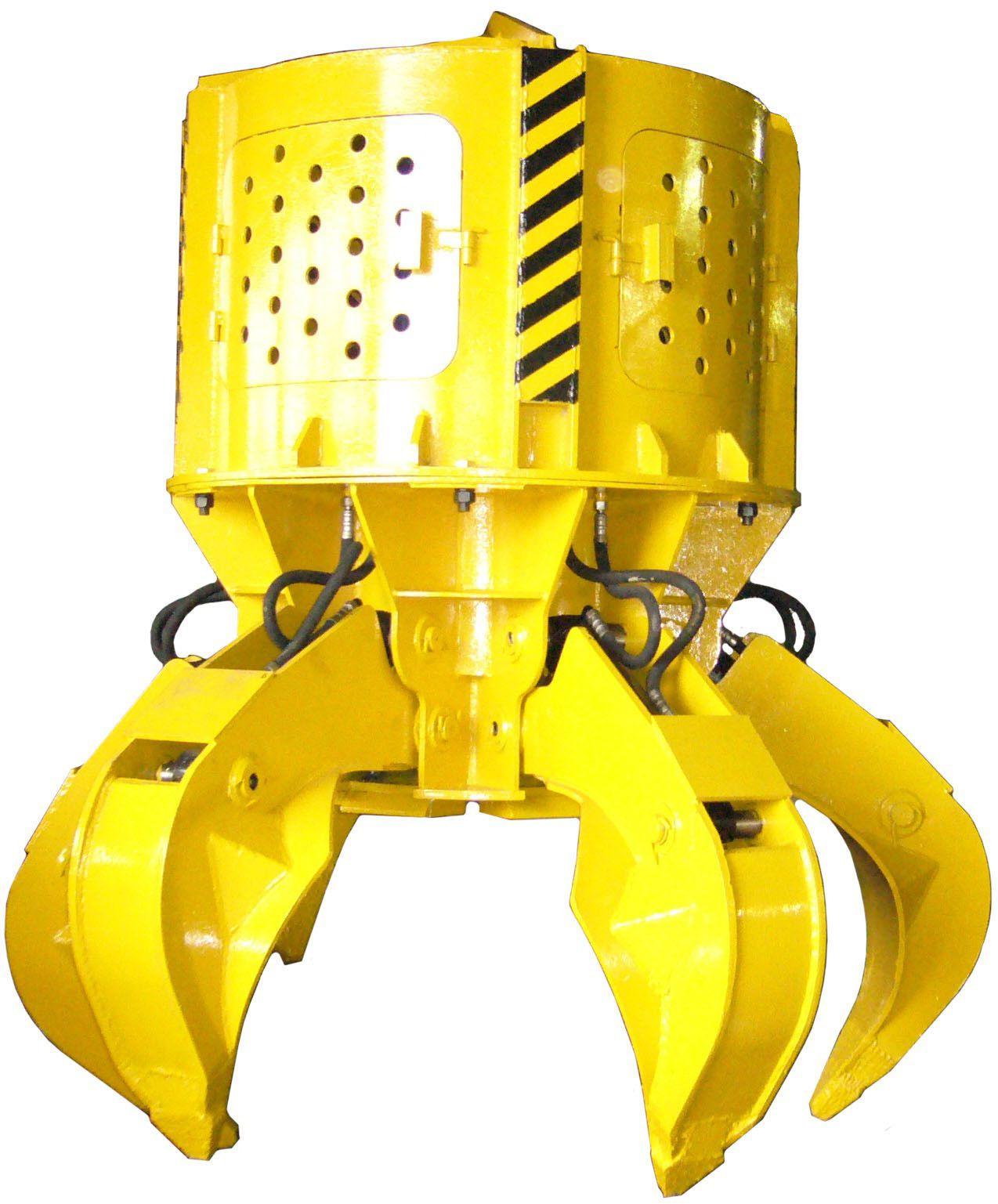Грейферы гидравлические для перегрузки металлолома