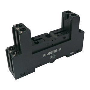 PI-50BE-A Колодка DIN для реле AMI-2P, AM-2P