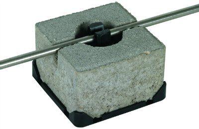 Держатель для плоской кровли пластик бетон