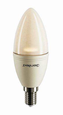 Светодиодная лампа свеча матовая7 W E14, 2700 K , Напряжение :180–240 V