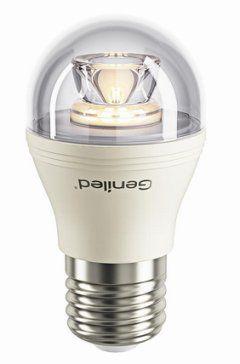 Светодиодная лампа шарик G45 прозрачная 8W E27, 2700 K , Напряжение :180–240 V, 50/60 Hz