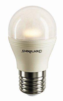 Светодиодная лампа шарик G45 матовая 7W E27, 2700 K , Напряжение :180–240 V, 50/60 Hz ,