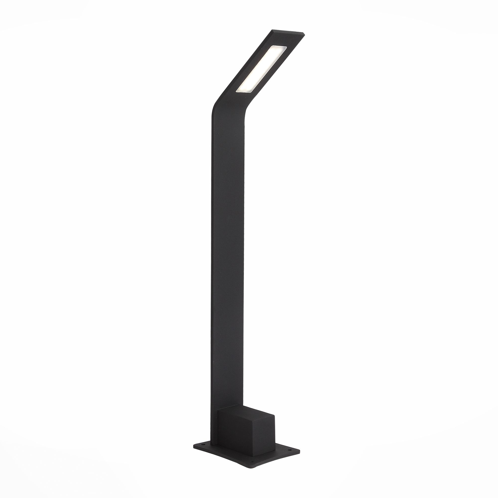 Светильник уличный наземный ST-Luce Черный/Черный LED 1*4W SL094.405.01