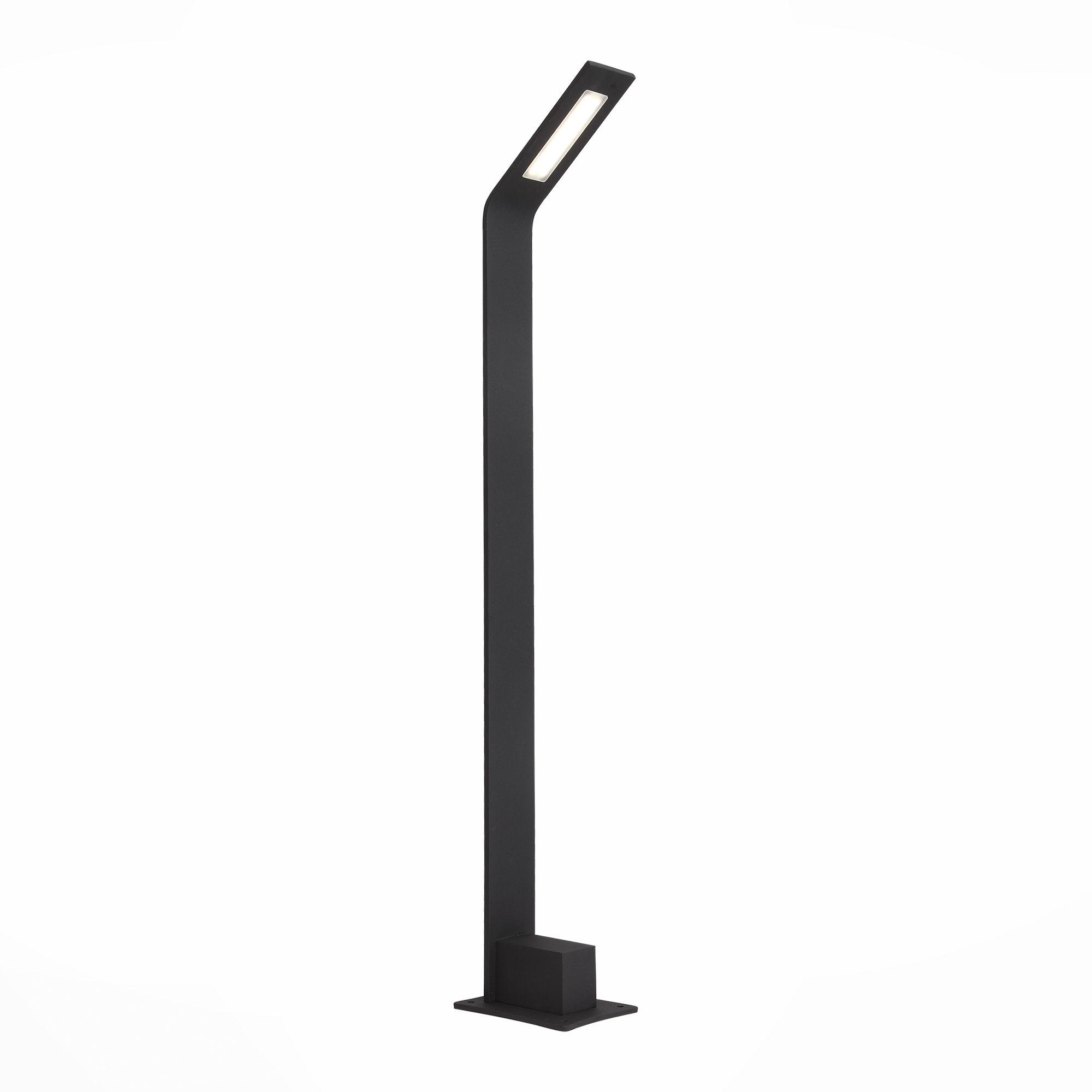 Светильник уличный наземный ST-Luce Черный/Черный LED 1*4W SL094.445.01