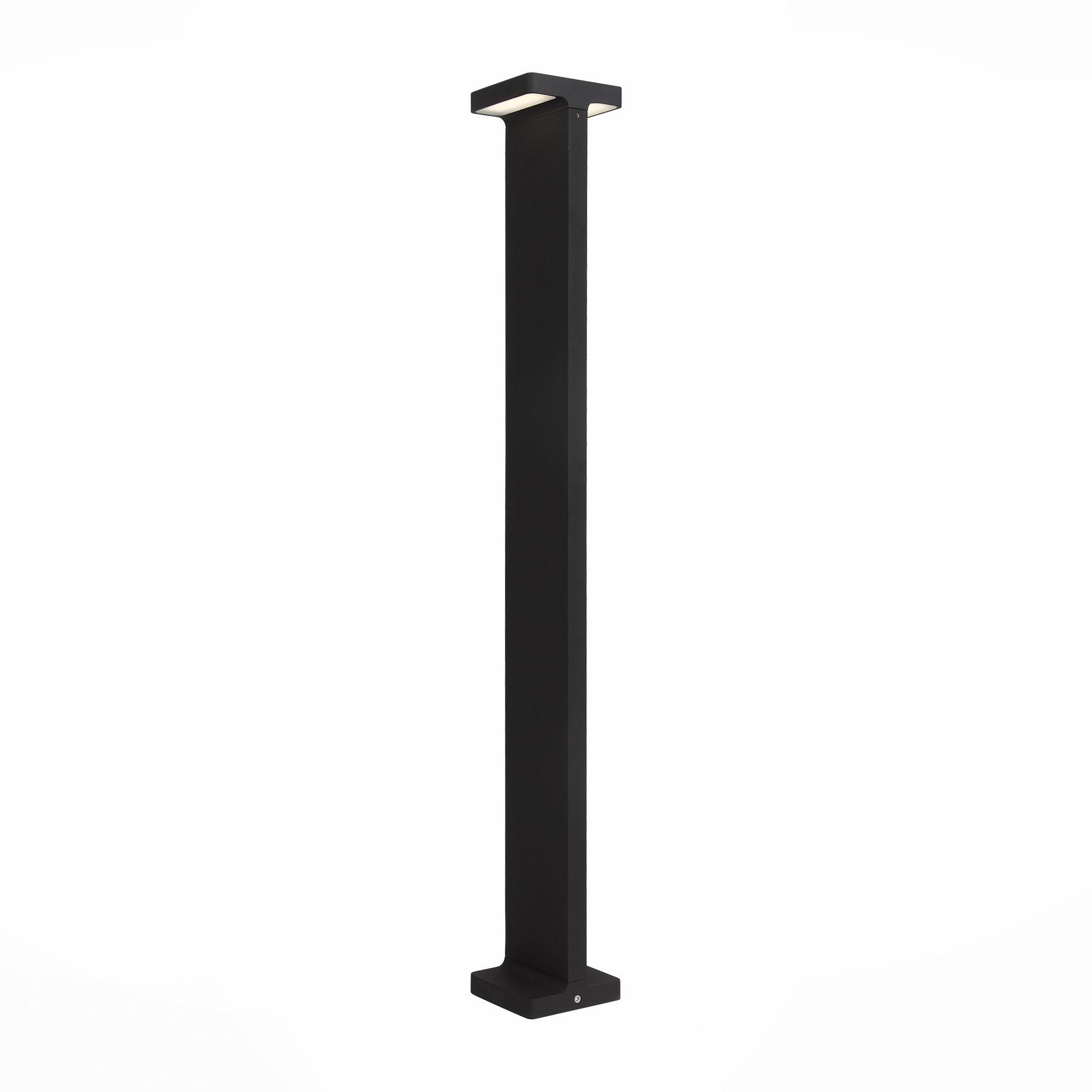 Светильник уличный наземный ST-Luce Черный/Черный LED 2*6W SL095.445.02