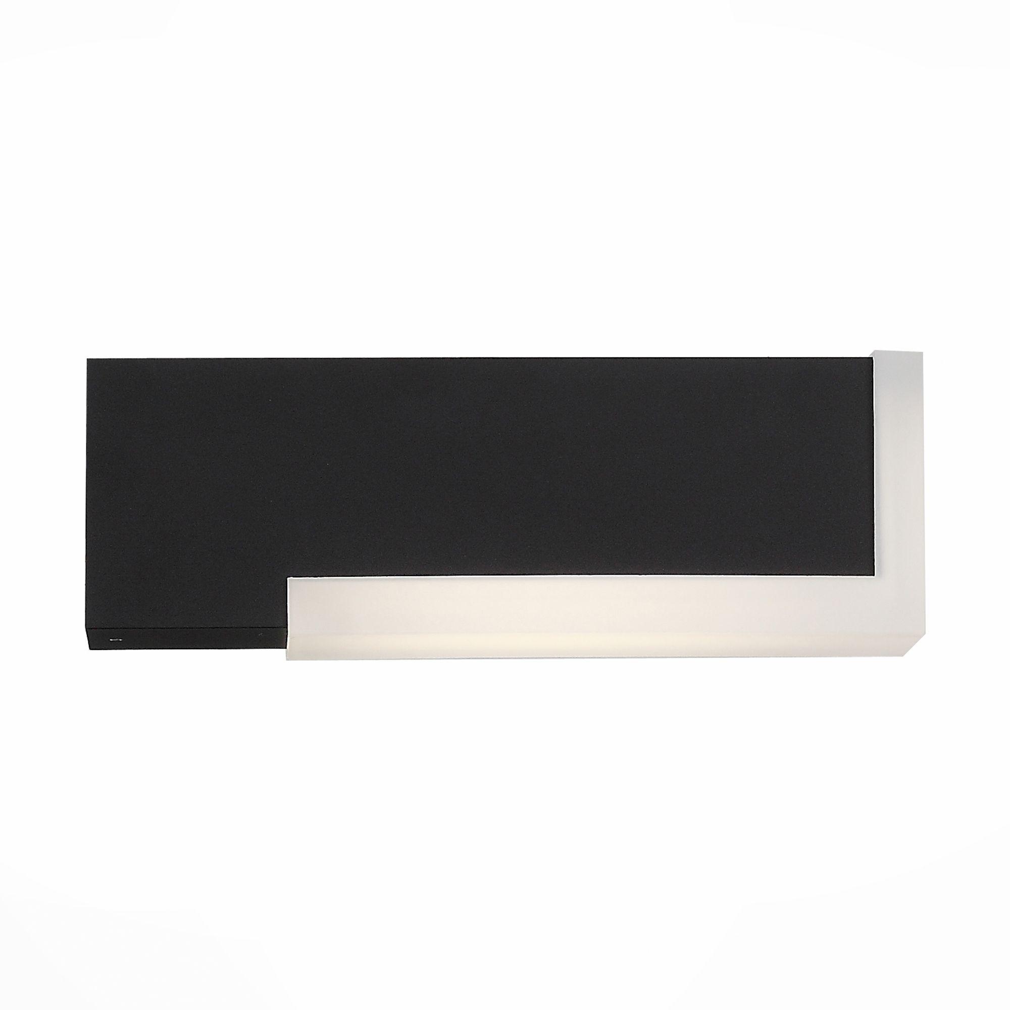 Светильник уличный настенный ST-Luce Черный/Белый LED 2*2W SL096.401.02