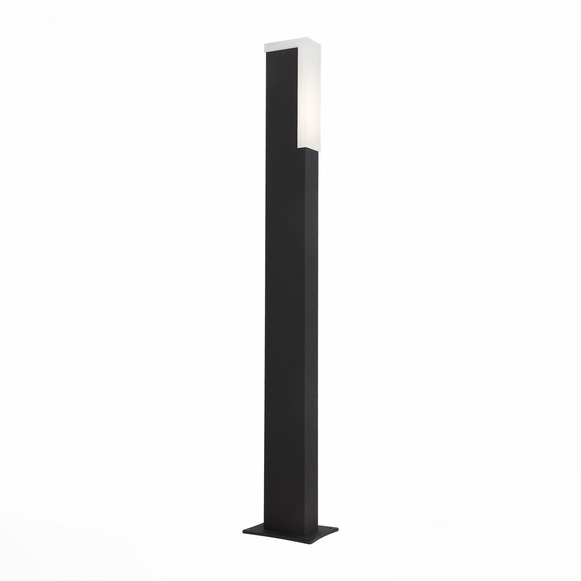 Светильник уличный наземный ST-Luce Черный/Белый LED 2*2W SL096.445.02