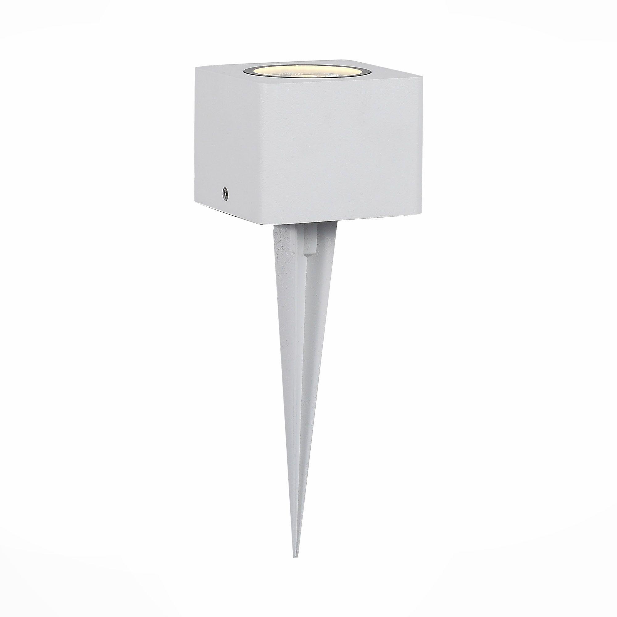 Светильник уличный наземный ST-Luce Белый/Прозрачный LED 1*8W SL097.505.01