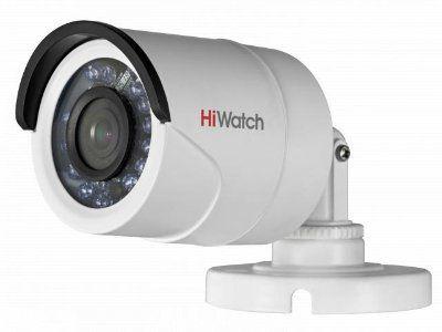 DS-T100 (2.8 mm) 1Мп уличная цилиндрическая HD-TVI камера с ИК-подсветкой до 20м
