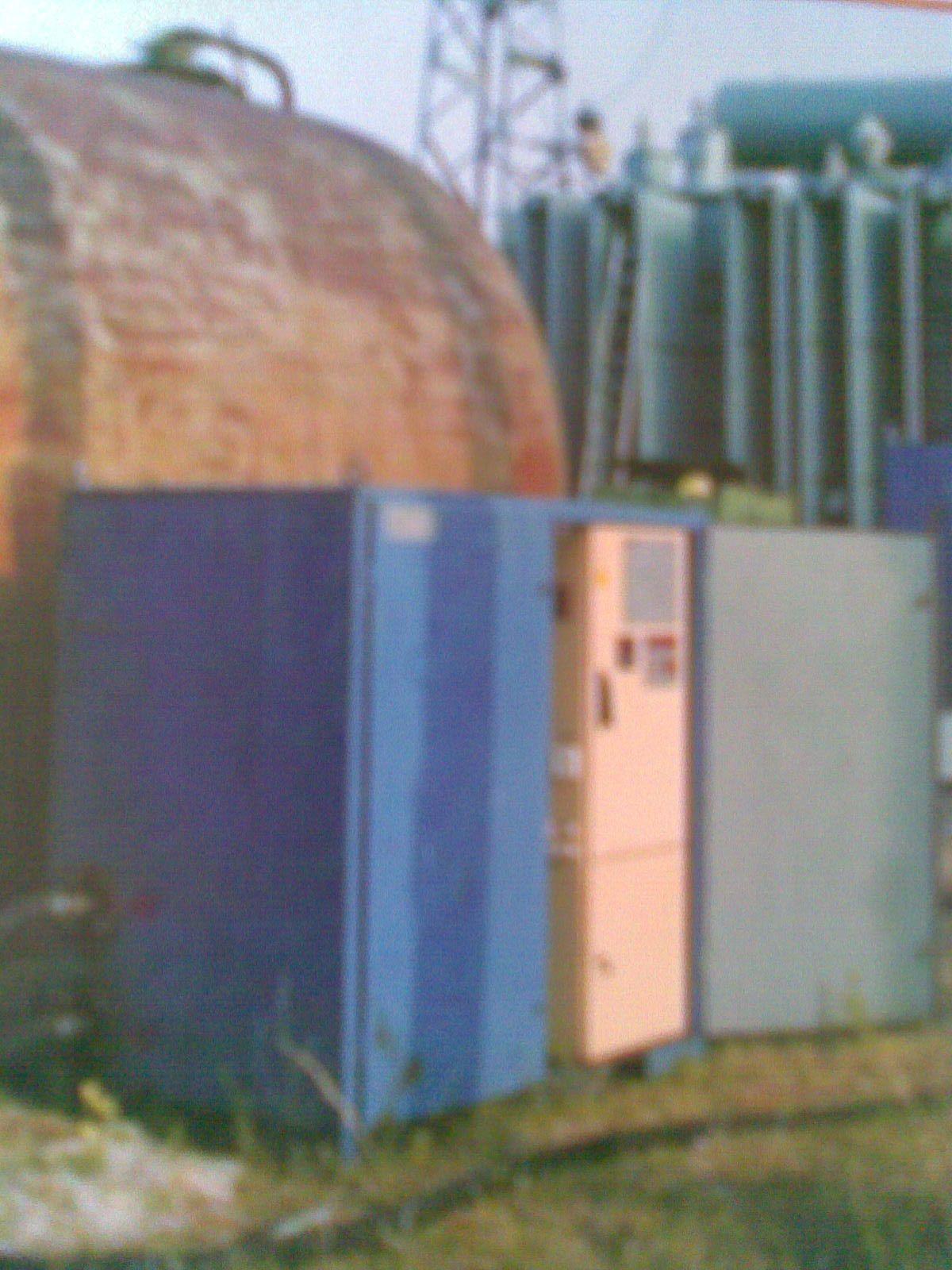 Установка нагрева - фильтрации масла типа НФ