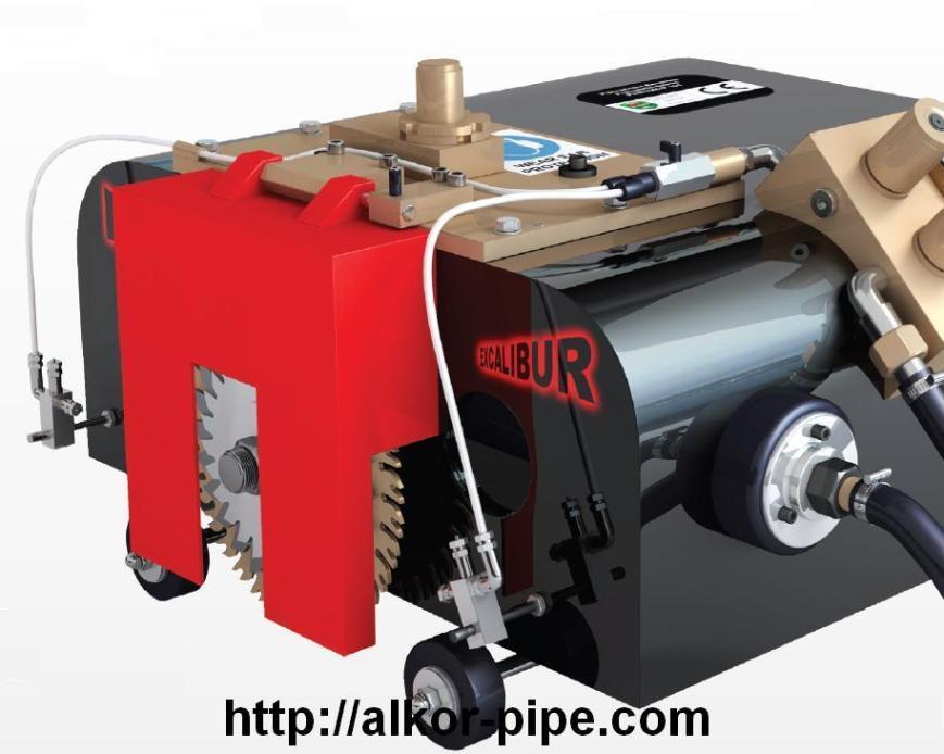 Машина резки труб на магнитной подвеске MINI MAG