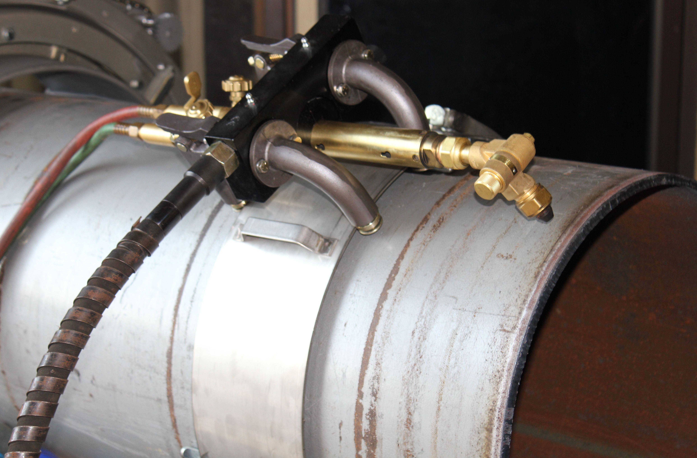 Машина цепная для резки труб и подготовки фаски Chain Beveling pipe cutting