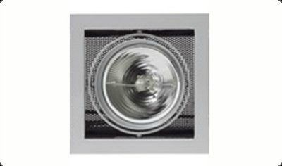 Светильник Kardan E-1 QR-LP 111 1 x 50W G53 titan-matt