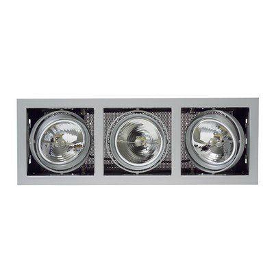 Встраиваемый светильник(кардан) Nobile Kardan E-3 MR16 3 x 50W GU 5,3 titan-matt