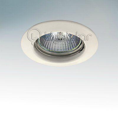 Точечный светильник Lightstar 011010 белый