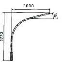 Кронштейн для светильников КР-1 (1041)