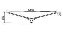 Кронштейн для светильников КР-2 (1034)
