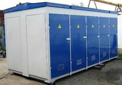 Двухрансформаторная подстанция КТПН-П К/К 630/10(6)-0,4