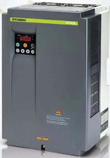 Частотный преобразователь HYUNDAI N700E-055HF (380В, 12А, 5,5КВт)