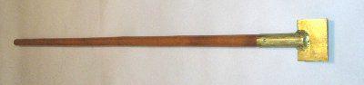 Пешня-скребок латунный искробезопасный ПСНЛ-30х150
