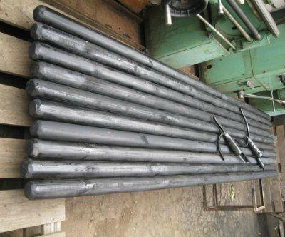 Древко для опорного инструмента багра и рогача ДИН-61-3КП