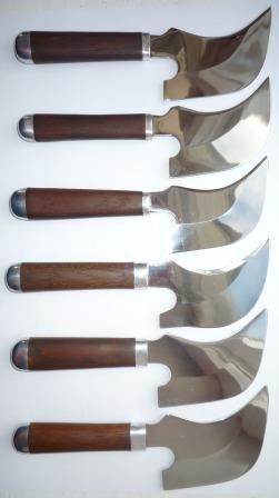 Нож монтерский отрезной широкий (Дон Карлос) С-945Ум3