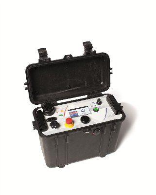 HVA28TD Высоковольтная СНЧ установка для испытаний кабелей с изоляцией из сшитого полиэтилена, 28 кВ, со встроенным модулем TD для измерения тангенса угла диэлектрических потерь
