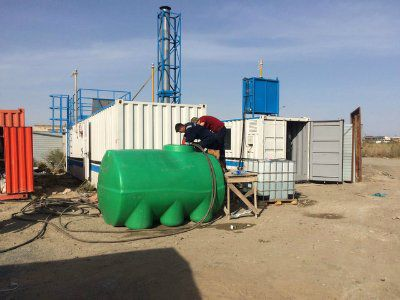 Установка очистки резервуаров КОР-1М