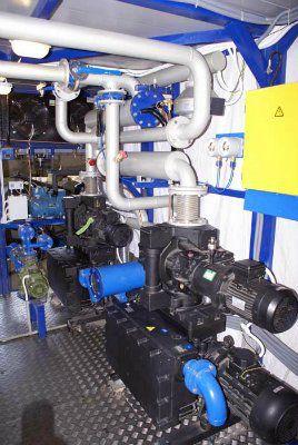«ИНЕЙ» Установки вакуумной осушки твердой изоляции трансформаторов.
