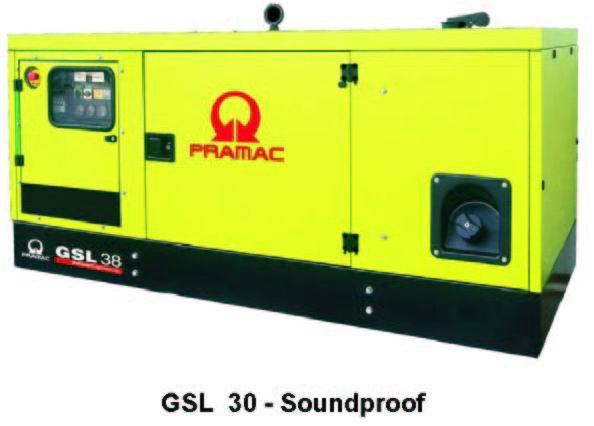 Электростанция Pramac GSW 415 WMDS (Италия) мощностью 378 кВА ( 302 кВт)